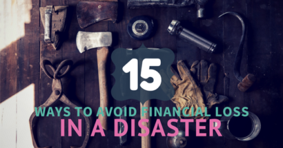 15 Ways To Avoid Financial Loss in a Disaster