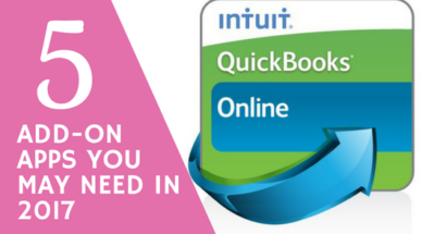 5 QuickBooks Online Add-On Apps You May Need in 2017
