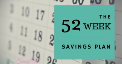 The 52-week savings plan – save $1,378 in a year!