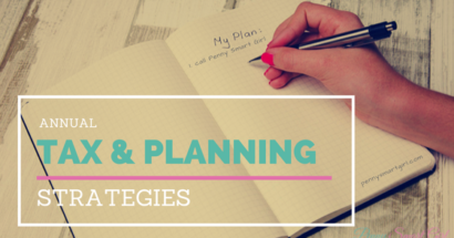 Annual Tax & Planning Strategies