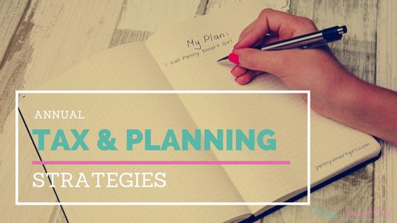 Annual Tax & Planning Strategies