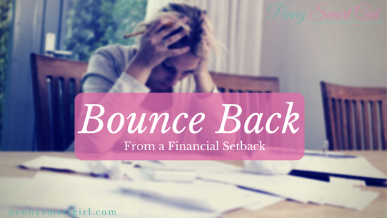 Bounce Back from a Financial Setback