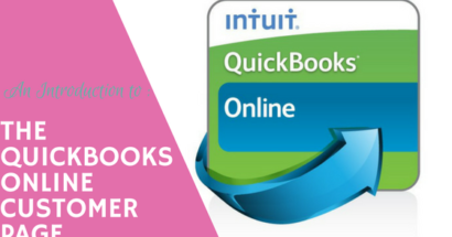 An Introduction to the QuickBooks Online Customer Page